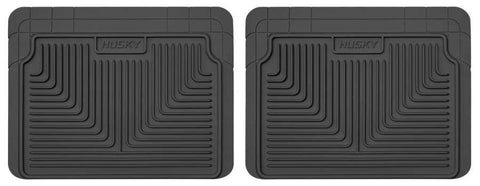 Honda Civic Value Package 1980-2007 - Black 2nd Or 3rd Seat Floor Mats - Heavy Duty Floor Mat