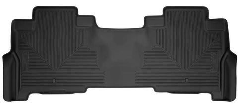Ford Expedition Max Platinum 2018-2020 - Black 2nd Seat Floor Liner - Weatherbeater Series
