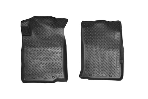Toyota Tacoma X-Runner Extended Cab2005-2015 - Black Front Floor Liners - Classic Style Series