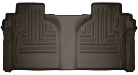Chevrolet Silverado 1500 LT Trail Boss Crew Cab2019-2020 - Cocoa 2nd Seat Floor Liner (Full Coverage) - X-act Contour Series