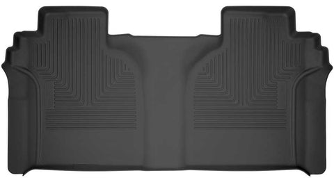 GMC Sierra 1500 AT4 Crew Cab2019-2020 - Black 2nd Seat Floor Liner - Weatherbeater Series