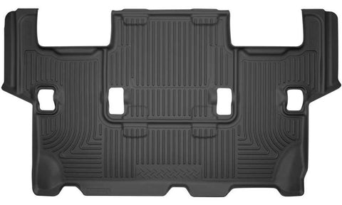 Ford Expedition XLT 2012-2017 - Black 3rd Seat Floor Liner - Weatherbeater Series