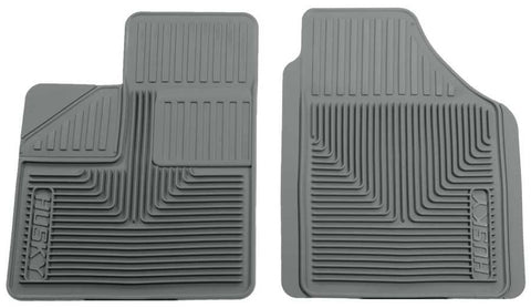 Dodge Caravan C/V 1984-2007 - Gray Front Floor Mats - Heavy Duty Floor Mat