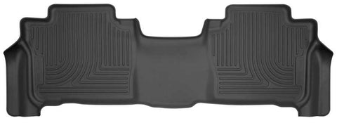 Lexus LX570 Base 2013-2019 - Black 2nd Seat Floor Liner - Weatherbeater Series