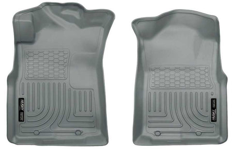 Toyota Tacoma Base Crew Cab;Extended Cab;Regular Cab2005-2015 - Gray Front Floor Liners - Weatherbeater Series