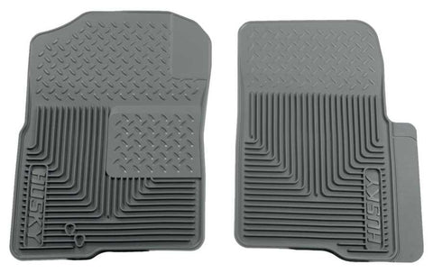 Lincoln Navigator L Ultimate 2003-2014 - Gray Front Floor Mats - Heavy Duty Floor Mat