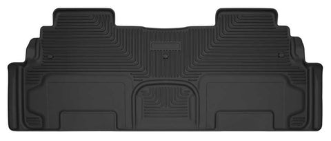 Buick Enclave Leather 2008-2017 - Black 2nd Seat Floor Liner - X-act Contour Series