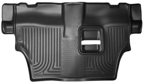 Dodge Durango Citadel Platinum 2011-2020 - Black 3rd Seat Floor Liner - Weatherbeater Series