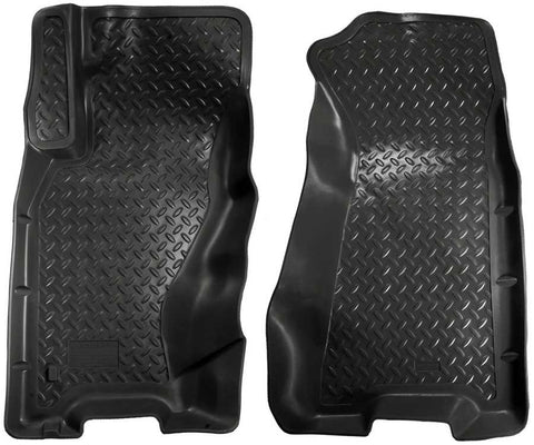 Jeep Grand Cherokee Limited 1999-2004 - Black Front Floor Liners - Classic Style Series
