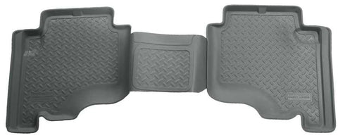 Jeep Grand Cherokee North Edition 2005-2010 - Gray 2nd Seat Floor Liner - Classic Style Series