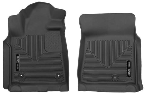 Toyota Tundra SR Crew Cab;Regular Cab2012-2020 - Black Front Floor Liners - X-act Contour Series