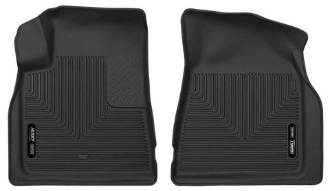 Buick Enclave Leather 2008-2017 - Black Front Floor Liners - X-act Contour Series