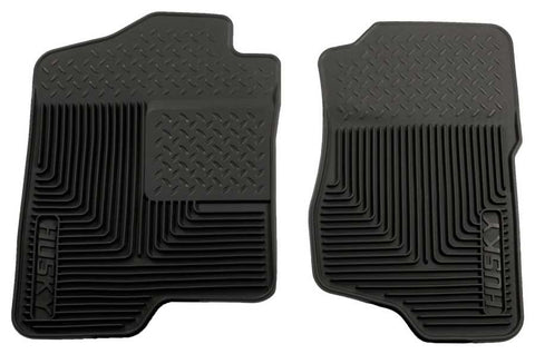 Chevrolet Avalanche Black Diamond LTZ 2007-2013 - Black Front Floor Mats - Heavy Duty Floor Mat