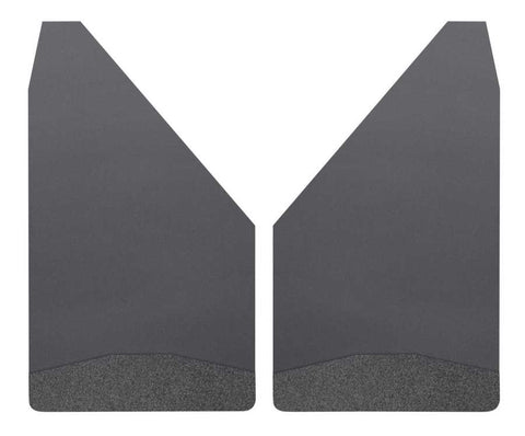 Ford Expedition EL Platinum 1997-2020 - Black Universal Mud Flaps 12in. Wide-Black Weight - Mud Flaps