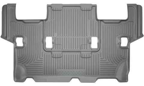 Ford Expedition XLT 2012-2017 - Gray 3rd Seat Floor Liner - Weatherbeater Series