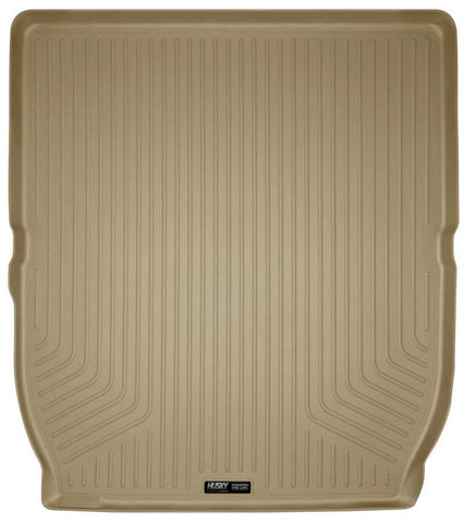 Buick Enclave Leather 2008-2017 - Tan Cargo Liner Behind 2nd Seat - Weatherbeater Series
