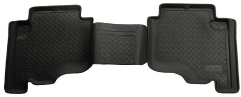 Jeep Grand Cherokee North Edition 2005-2010 - Black 2nd Seat Floor Liner - Classic Style Series