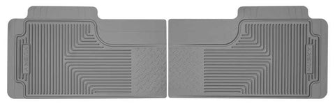 Ford F-150 XLT Crew Cab1980-2013 - Gray 2nd Or 3rd Seat Floor Mats - Heavy Duty Floor Mat
