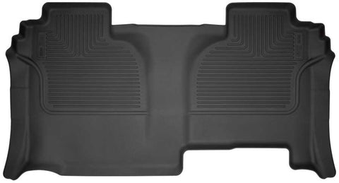 Chevrolet Silverado 2500 HD WT Extended Cab2019-2020 - Black 2nd Seat Floor Liner - Weatherbeater Series