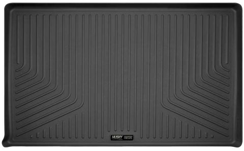 Ford Expedition EL Platinum 2007-2017 - Black Cargo Liner Behind 3rd Seat - Weatherbeater Series