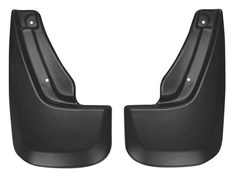 Dodge Durango Crew Plus 2011-2020 - Black Rear Mud Guards - Custom Mud Guards