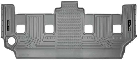 Dodge Grand Caravan Crew Plus With Stow and Go Seats2008-2020 - Gray 3rd Seat Floor Liner - Weatherbeater Series