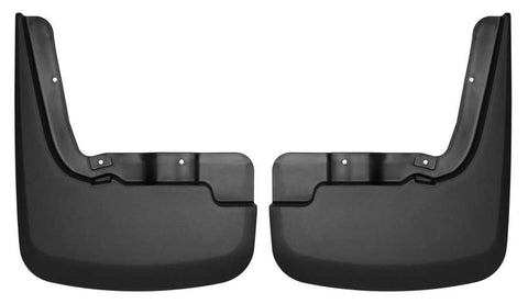 Chevrolet Silverado 1500 LT Trail Boss Standard Side Bed2019-2020 - Black Front Mud Guards - Custom Mud Guards