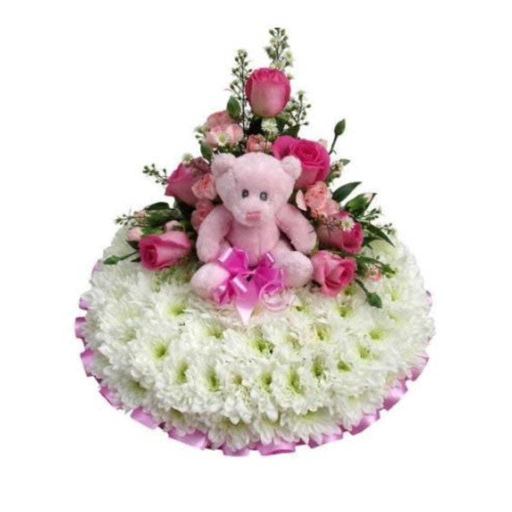 Casket Flowers Baby Girl - Shalimar Flower Shop
