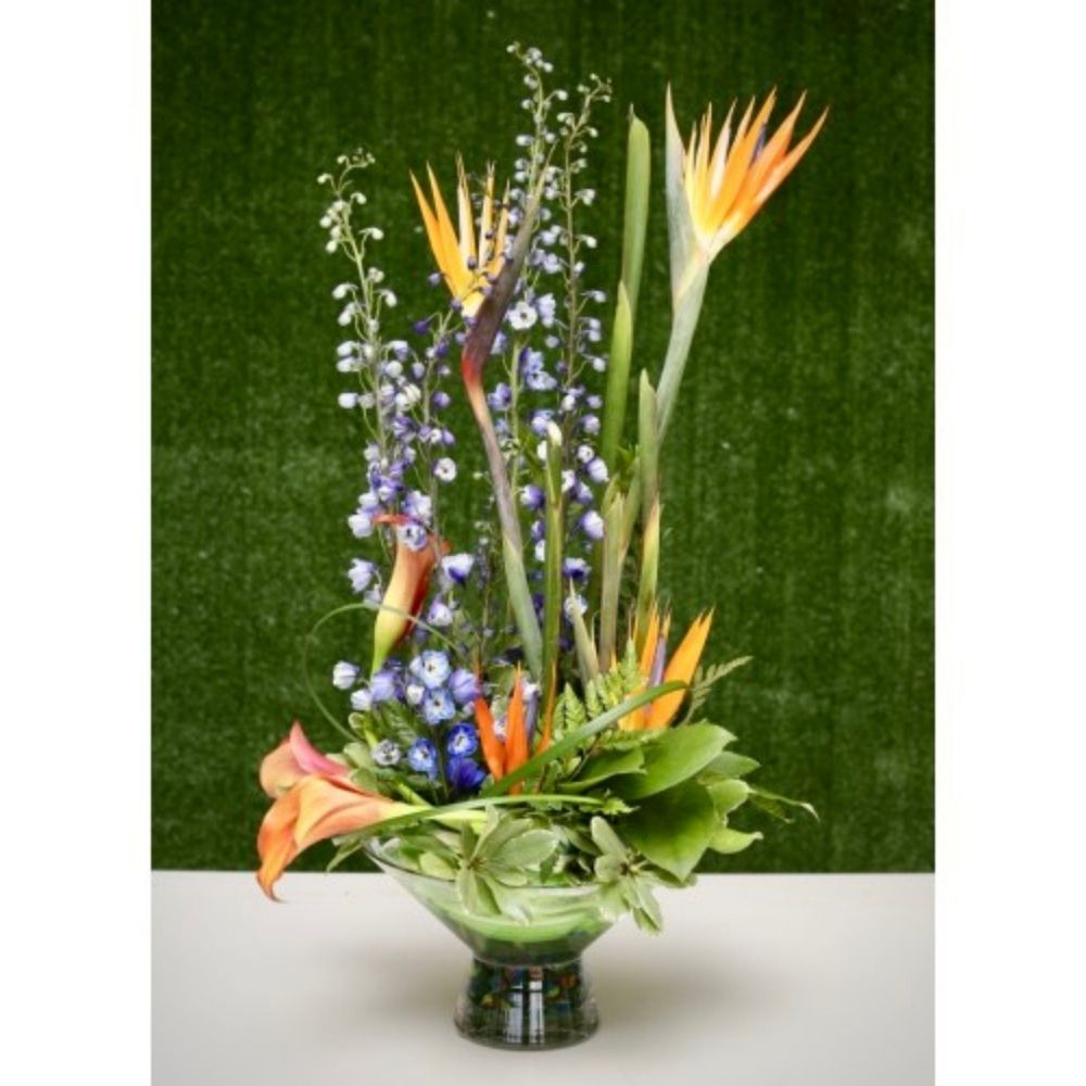 Exquisite Floral Garden Arrangement - Shalimar Flower Shop