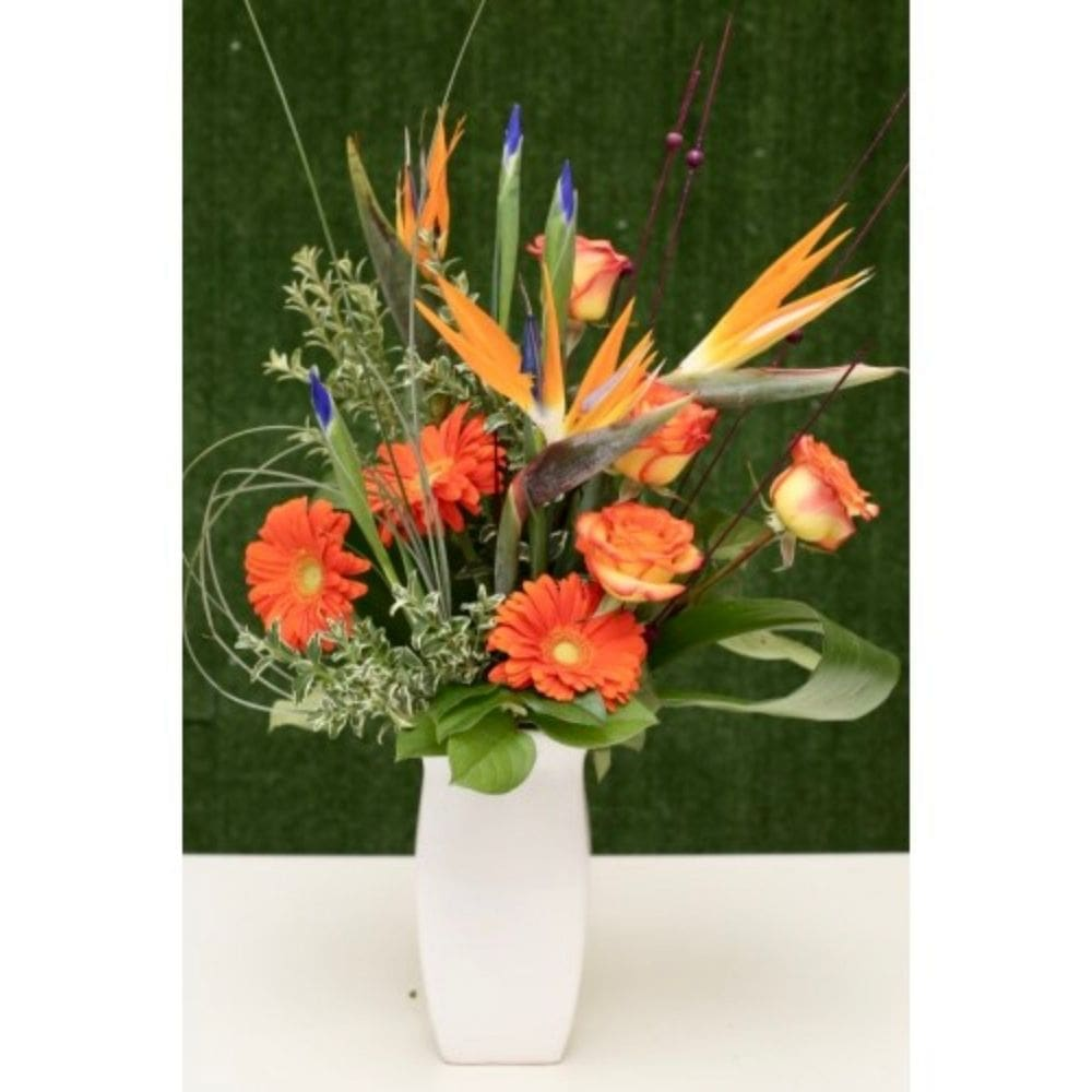 Loyal Love Floral Arrangement in a Vase - Shalimar Flower Shop