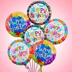 Birthday Balloon Bouquets - Shalimar Flower Shop