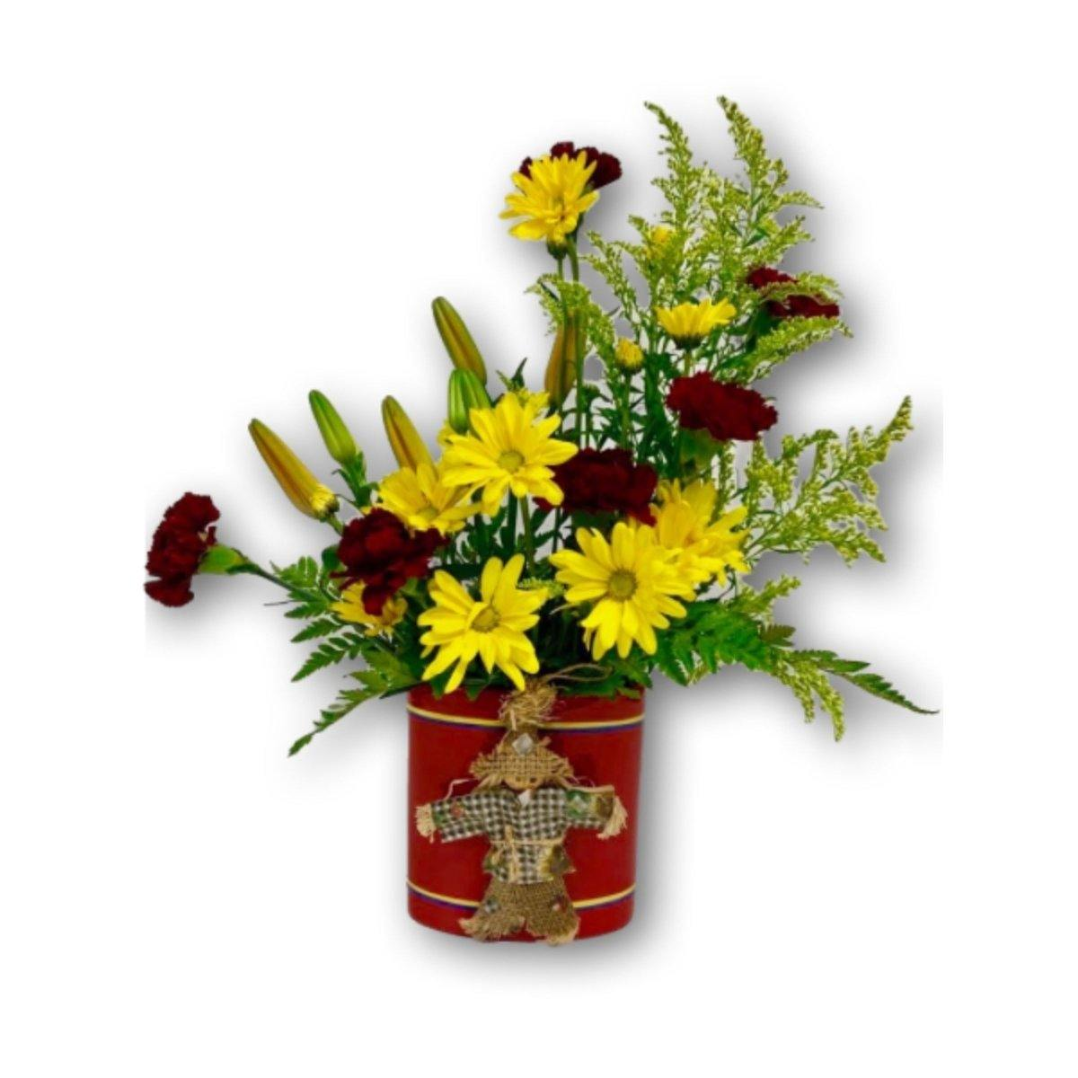 Boo-tiful Halloween Daisies & Roses - Shalimar Flower Shop