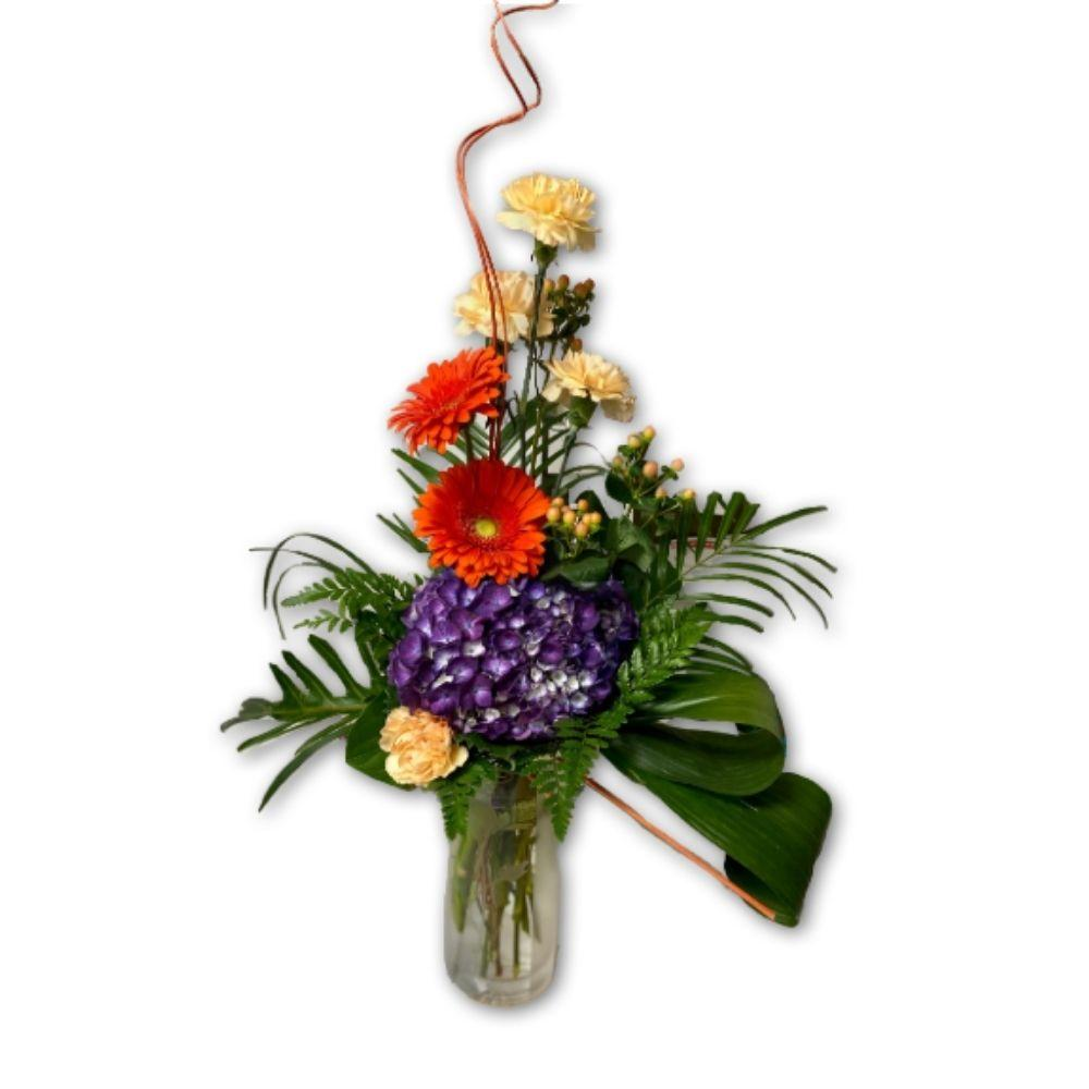 Budding Blooms for Mom in Premium Vase - Shalimar Flower Shop