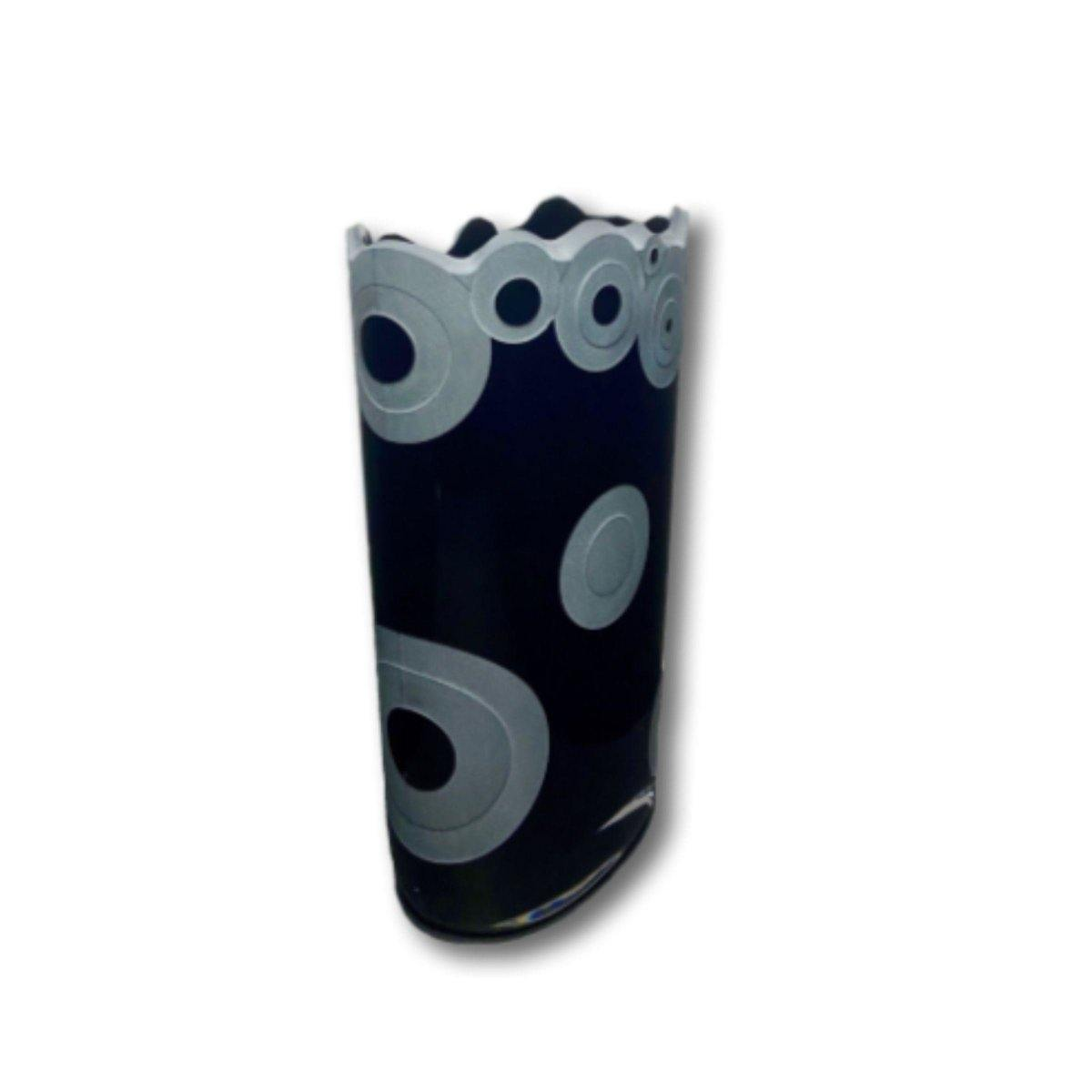 Circular Patterned Premium Vase - Shalimar Flower Shop