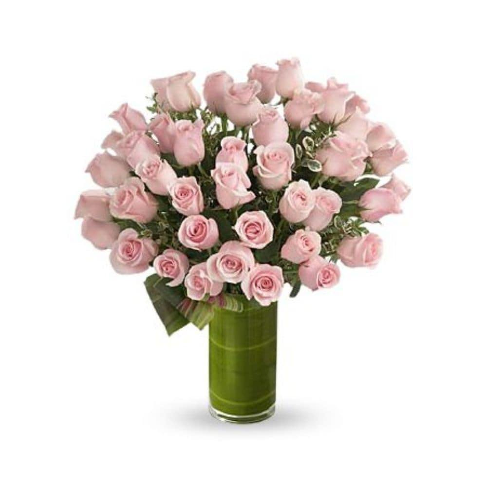 Delighted Luxury Rose Bouquet - Shalimar Flower Shop