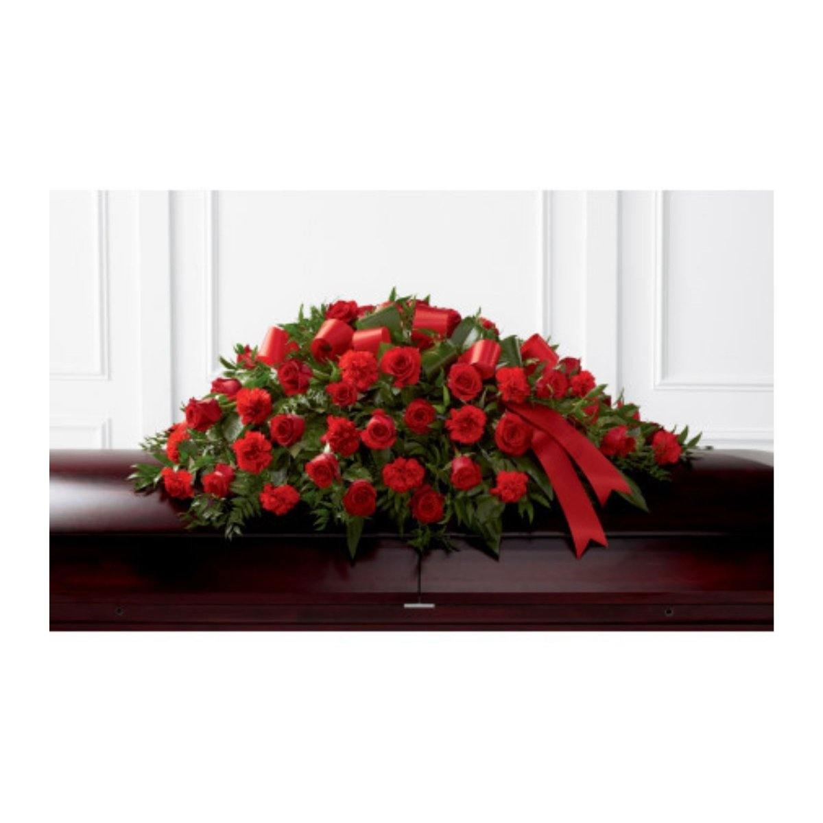 FTD® Dearly Departed Casket Spray - Shalimar Flower Shop