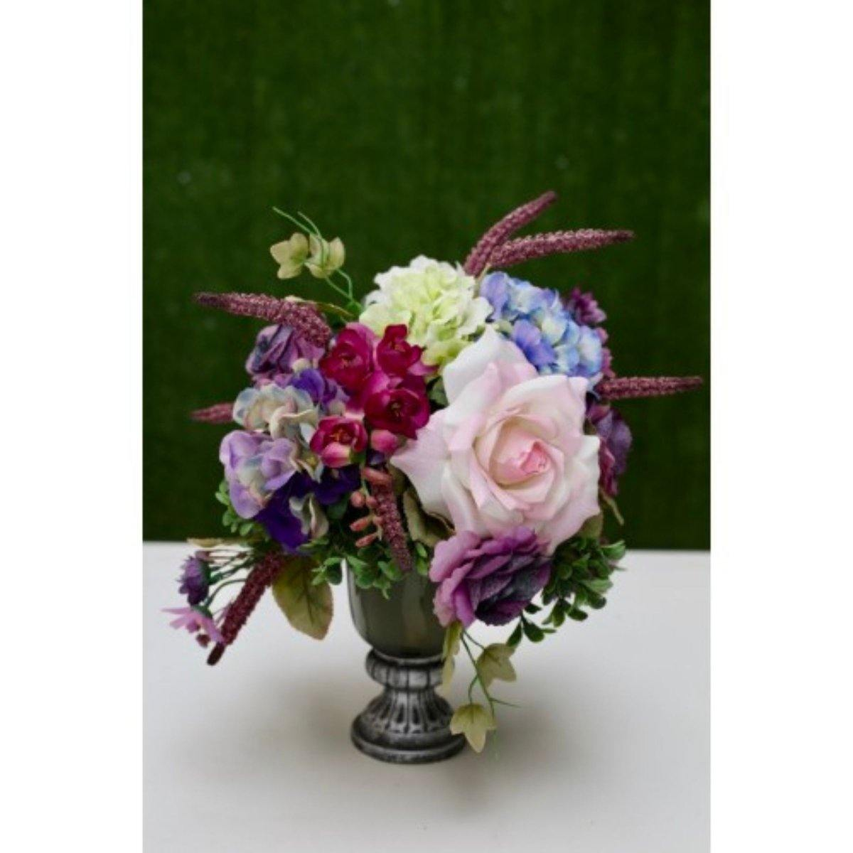 Gorgeous Silk Floral Arrangement (Artificial Flowers) - Shalimar Flower Shop