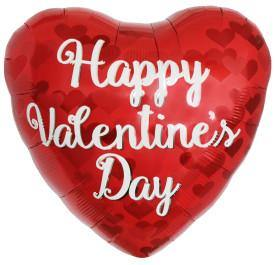 Happy Valentine's Day Balloon - Shalimar Flower Shop