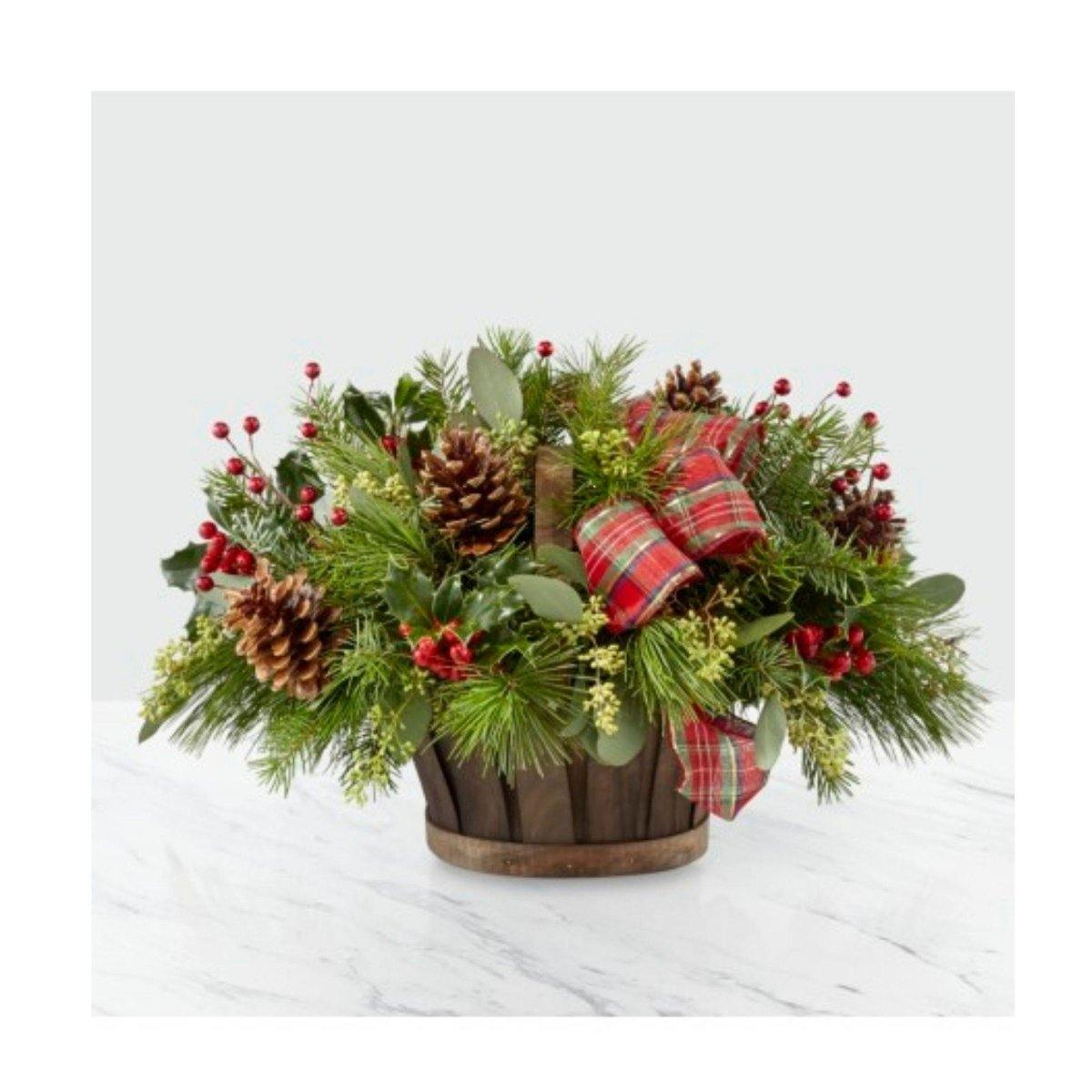 Holiday Basket - Shalimar Flower Shop