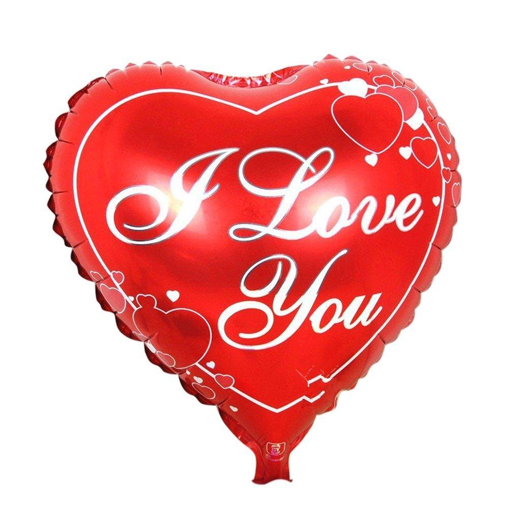 I Love You Balloon - Shalimar Flower Shop