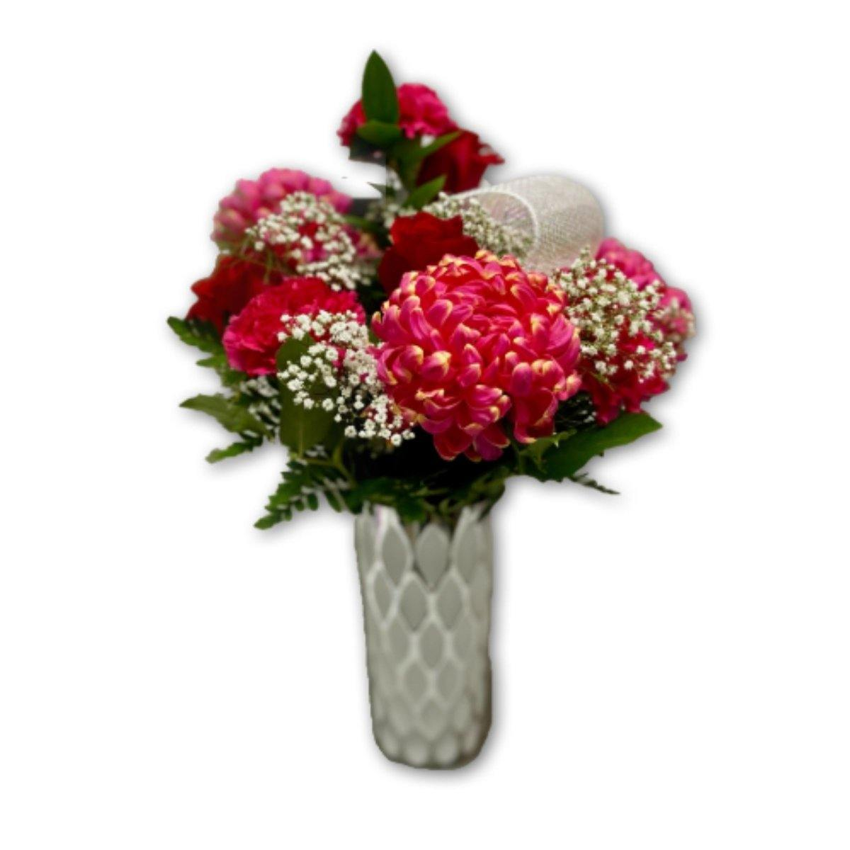 I Love You More Floral Arrangement - Shalimar Flower Shop