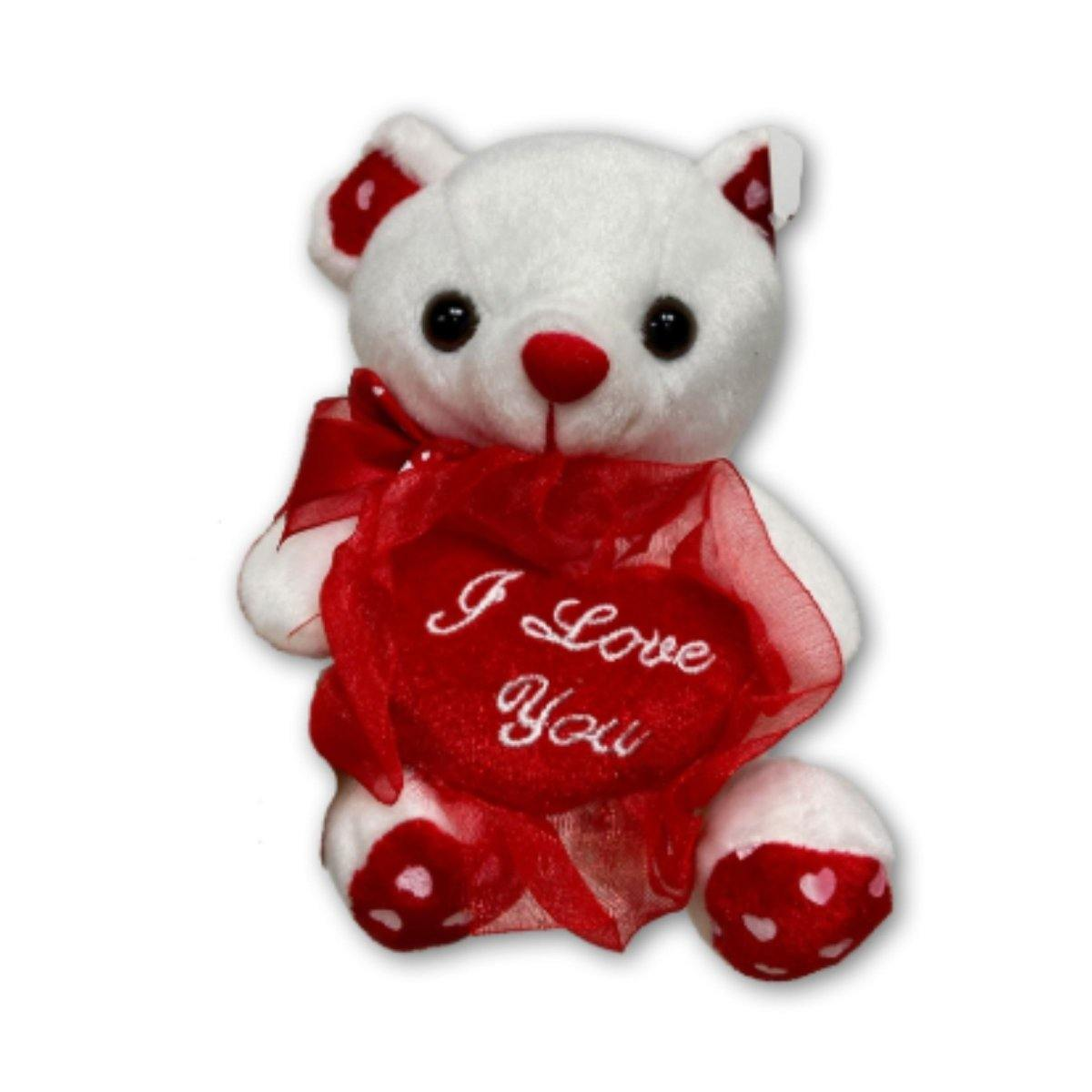 I Love You Small Teddy - Shalimar Flower Shop