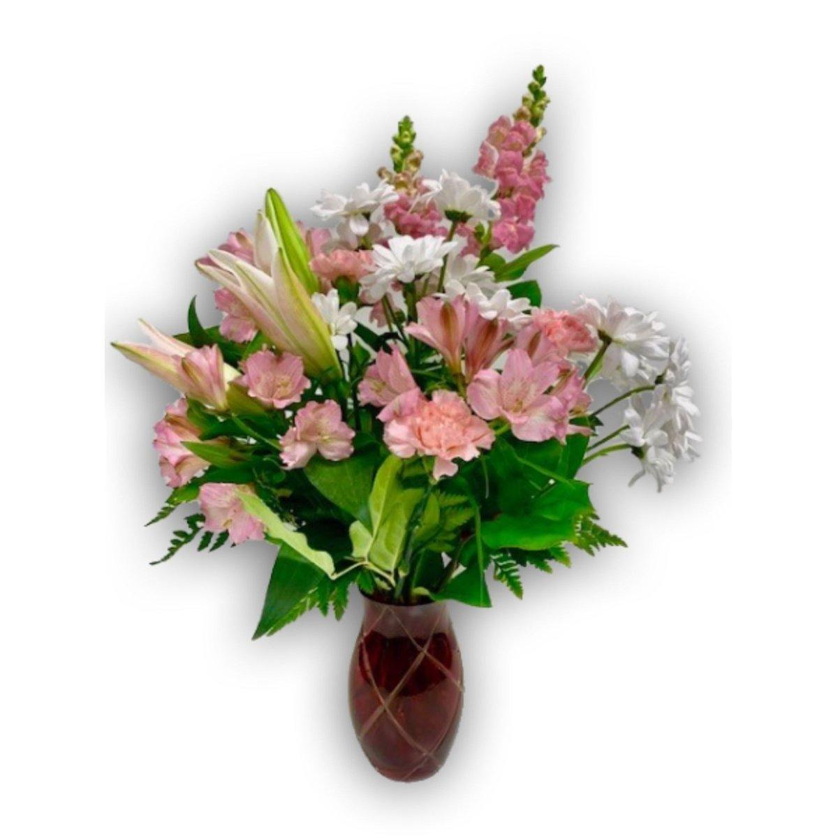 Pink Ice Bouquet - Shalimar Flower Shop