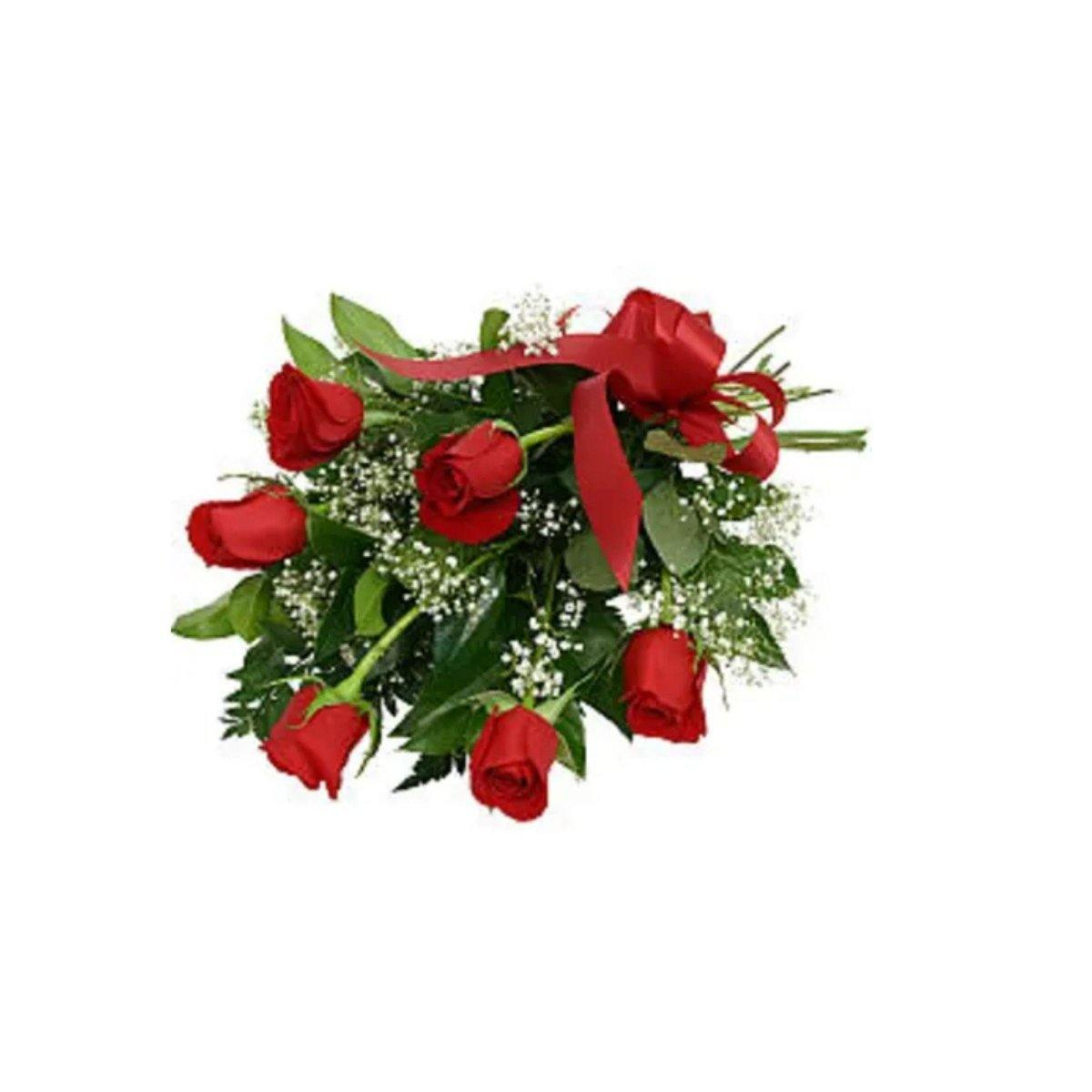 Pretty 6 Rose Bouquet - Shalimar Flower Shop