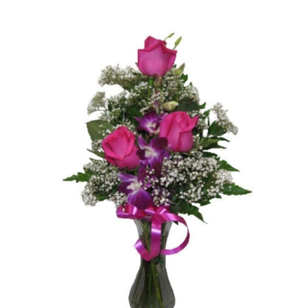 Pretty Pink & Purple Bouquet - Shalimar Flower Shop