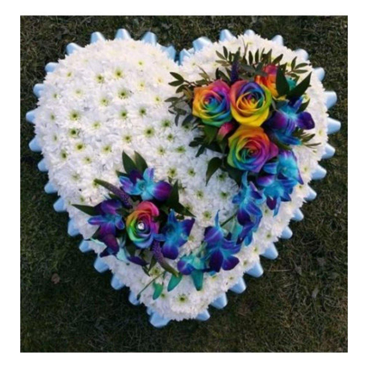 Rainbow Heart Dream - Shalimar Flower Shop