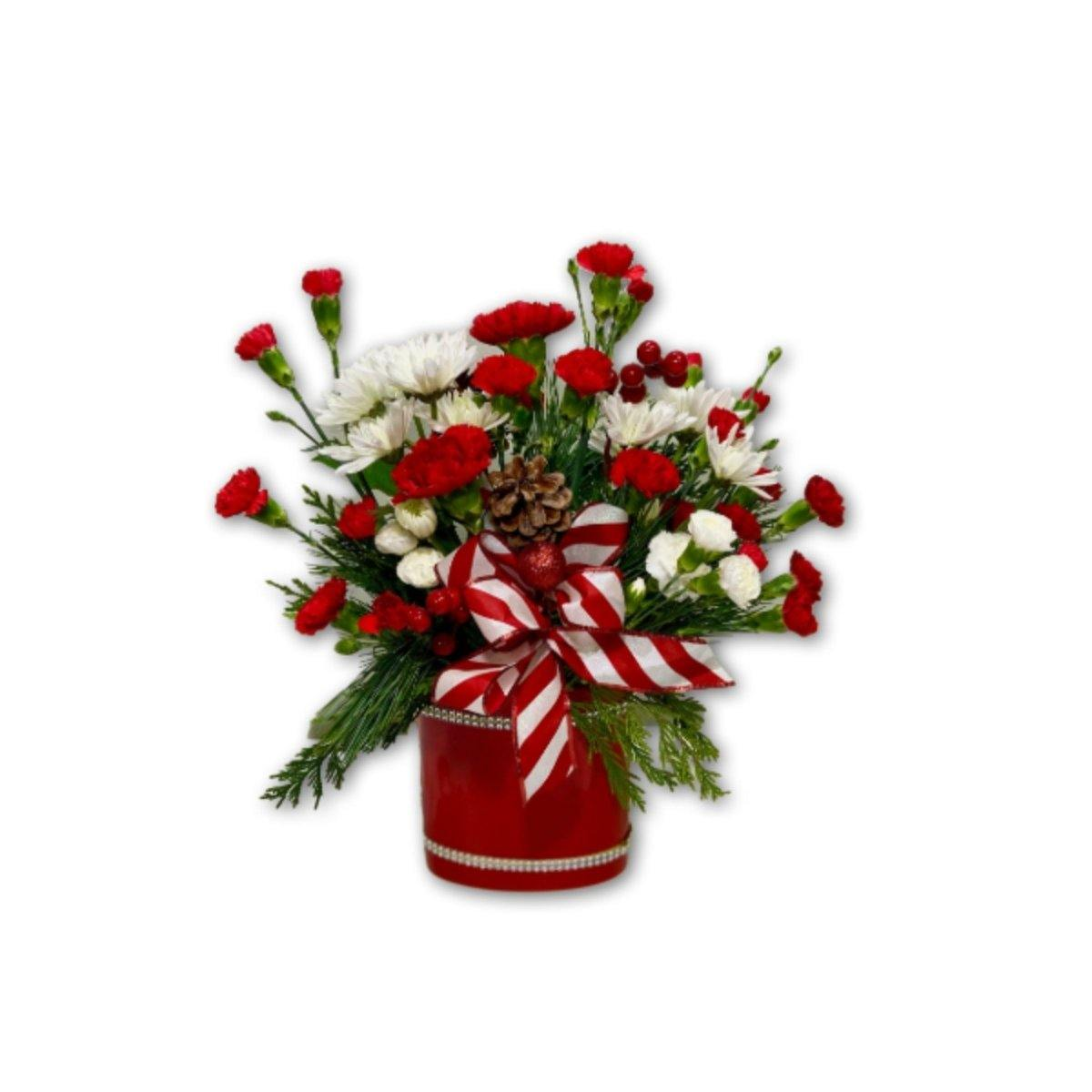 Red & White Holiday Dream - Shalimar Flower Shop