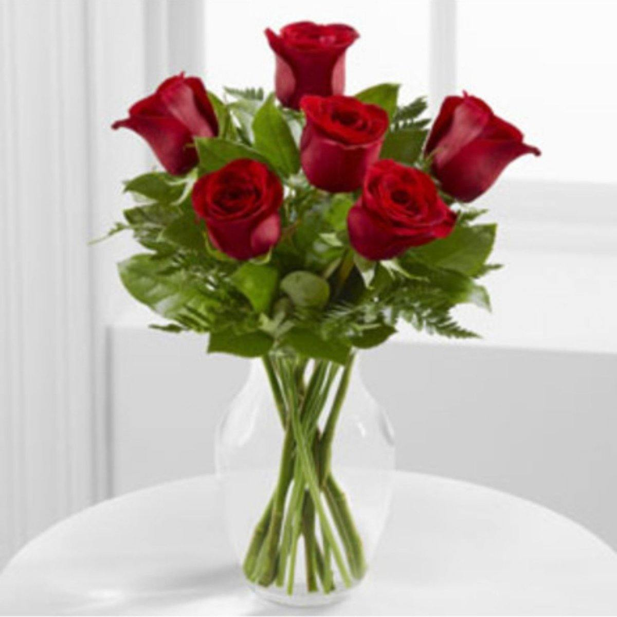 Simply Elegant Rose Bouquet - Shalimar Flower Shop