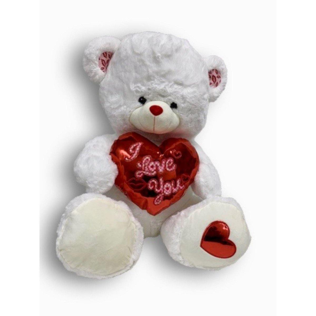 Smooches Teddy Bear - Shalimar Flower Shop