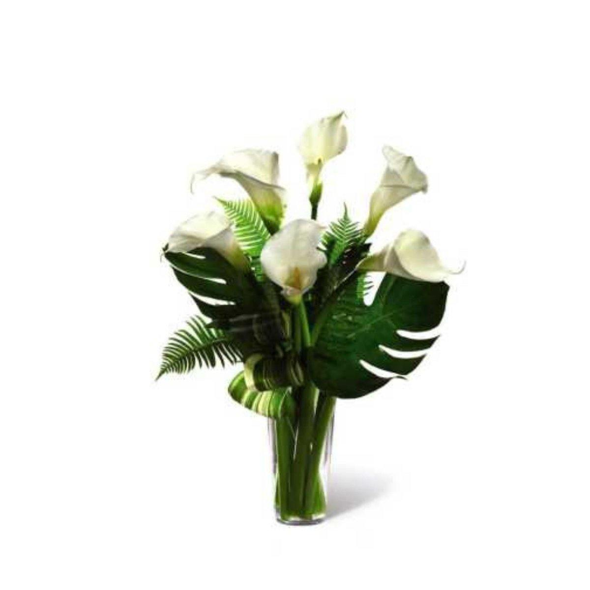 The FTD® Always Adored Calla Lily Bouquet - Shalimar Flower Shop